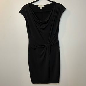 Michael Kors Womens Small Black Dress Sheath